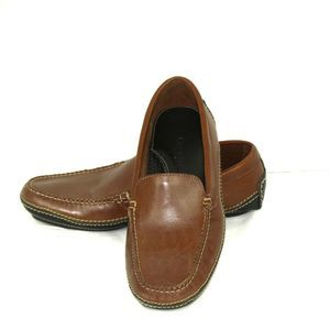 Cole Haan Country Brown Leather Driving Loafers 7